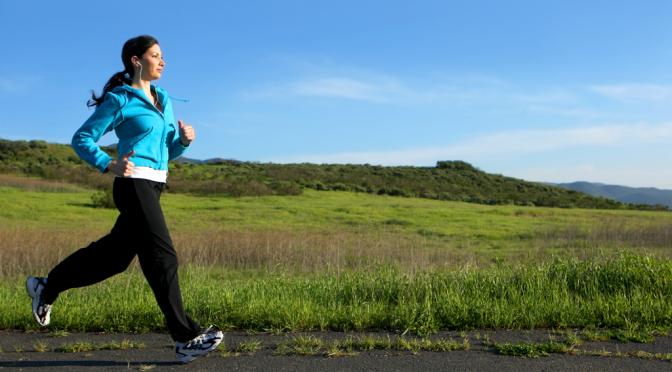 15 Minuten Gehen oder 5 Minuten Laufen für die Gesundheit